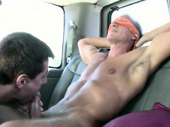 Real straight guy tricked into gay bj