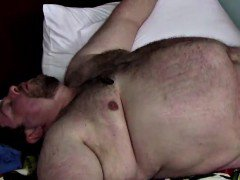 A Fat Hairy Bears Big Thick Load