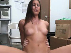 Real casting slut rides and fingers