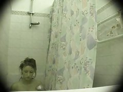 Spying on her in bathroom