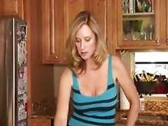 Blonde Milf Get Fuck By Young Man On Bed