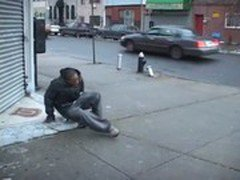 Monster black cocks colliding in sizzling hot mouth and ass fuck