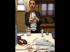 Kaley Cuoco - Jerk off challenge