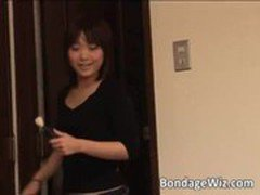 Two hot and beautiful Asians play