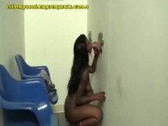 Big Titted Black Fucks Gloryhole White Pole