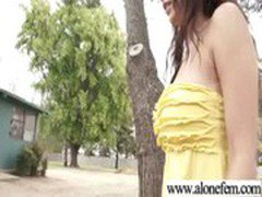 Cute Teen Amateur Playing With Dildos vid-09