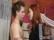 Legal age teenager fucking act with a babe