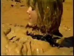 WAM total leather girl in Mud.MOV