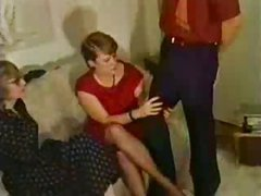 Vintage Girls Have Fun With Stripper