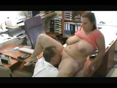 My Fat BBW coworker and I love to fuck in the office.