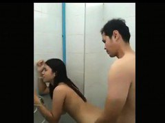 Asian Teen Creampie Accident In The Shower