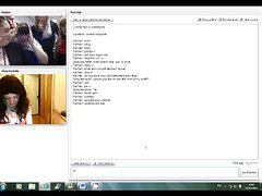 Limerick Sissy Michelle Humiliated Again on Chatroulette