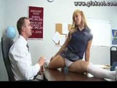 Teacher fucks his student Lea Lexis