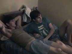 Gay video Try as they might, the boys can\'t woo timid Nathan