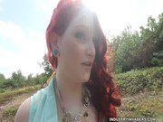 Hot Redhead Aurora Rose Interracial Industry Invaders