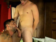 Amazing gay scene Twink host Stuart knows how to keep his gu