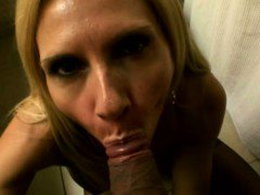 Horny housewife pov cheating with blowjob