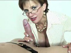 Lady Sonia gives bdsm suck and tug