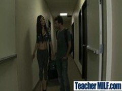 Big Tits Teachers Fuck Hard Students clip-36
