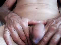 up close handjob