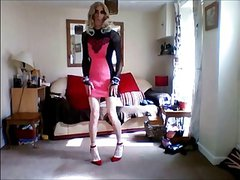 new pink minidress