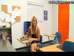 Holly Taylor is naughty schoolgirl fucked by her teacher