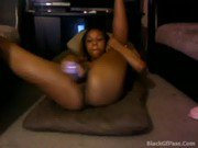 Getting a Good Nut - Sexy Ebony Masturabting