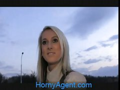 HornyAgent Jenkas hot body is bent over and fucked hard