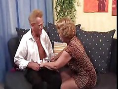 German boss and mature secretary