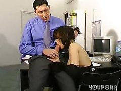 Office suck and fuck