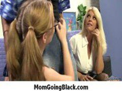 Mommy go black - Interracial hardcore MILF porn video 8