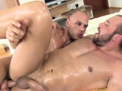 Turned gay amateur bear cums