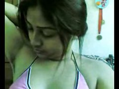 Desi Beautiful Indian Girl suman Showing Boobs