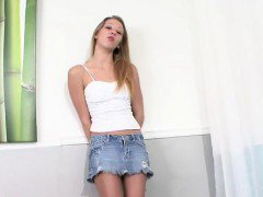Taboo teen stepsis in pantyhose