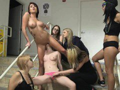 College Girls Get Oral And Fuck With Dildo At Hazing Party