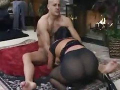black pantyhosed sex flick a