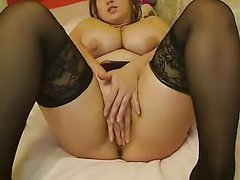 Webcams 2014 - Romanian Monster Tits 2: DILDO FUN