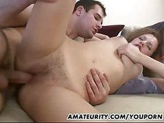Hot Amateur Girlfriend Sucks And Fucks With Facial