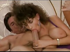 Sarah fucked by two friends
