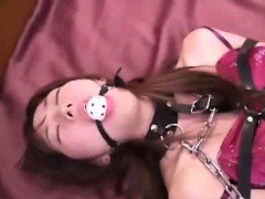 Confined Asian Teen Made To Orgasm