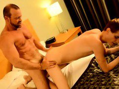 Amazing gay scene Twink rent stud Preston gets an yam-sized