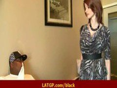 Hot sexy MILF rides big black monster dick 19