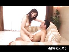 hot Akemi sex on couch