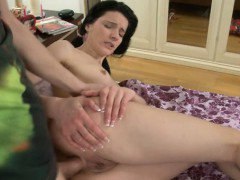 Fascinating winsome honeys anal canal