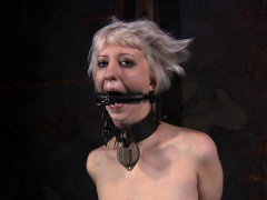 Gagged and bounded for punishment