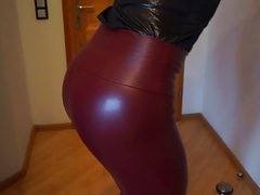 DWT - TV - Crossdresser - Legs- Leggings - Boots - Dick
