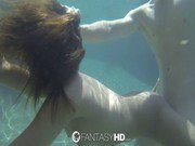 HD - Fantasy HD Exotic Sara Luv sucks and fuck underwater