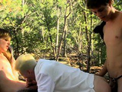 Amazing gay scene Sweet young Benjamin is being harbored by