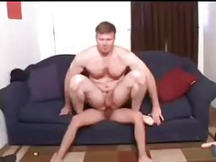 Young latino fucking bareback a mature man.