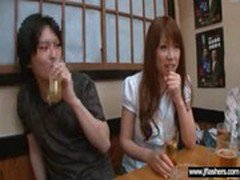 Japanese Girl Flashing Body In Public Place video-27